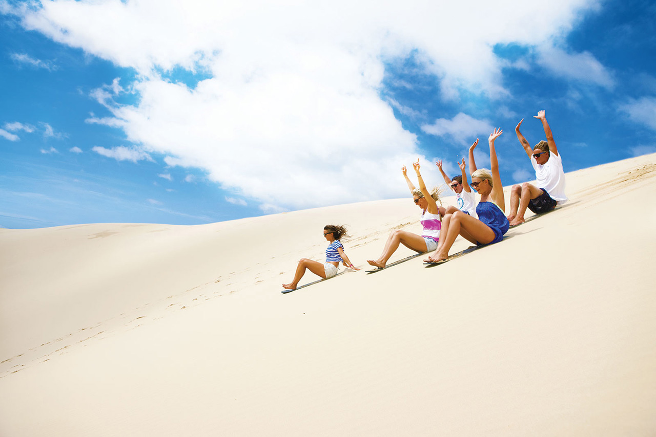 Sandboarding and Sand Surfing
