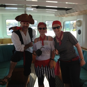 Moonshadow Team Building Pirates